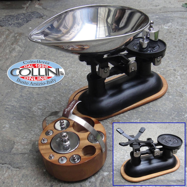 Kitchencraft balanza de cocina de hierro fundido con pesos for Cocina hierro fundido