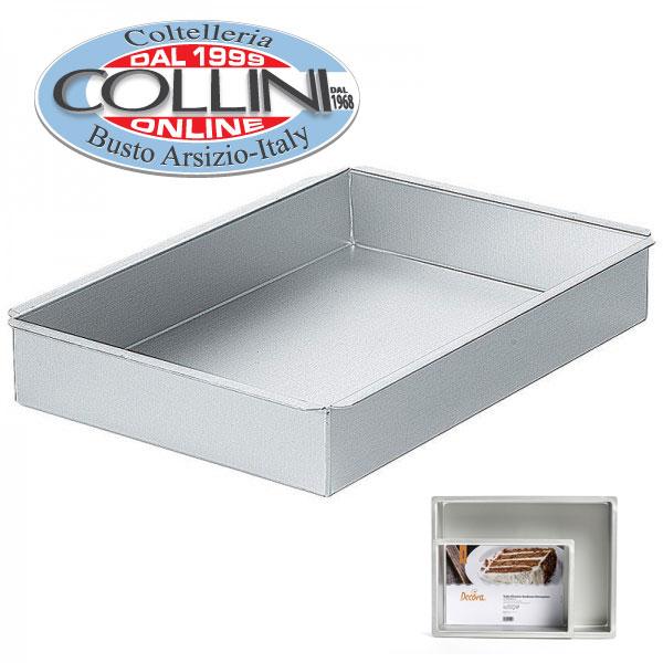 Decora sartenes profesionales rectangulares 40x30x7 5cm for Sartenes profesionales cocina
