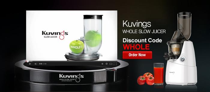 Kuvings, Silent Juicer 850 Plus, Exprimidor centrifugo y